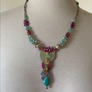 Beautiful artsy necklace
